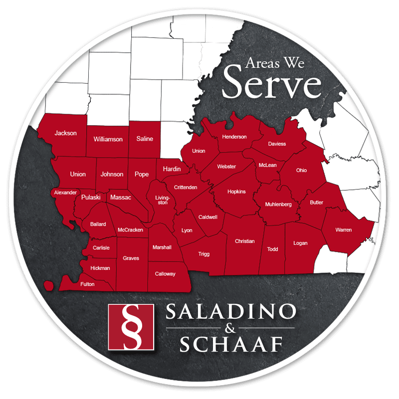 Saladino & Schaaf - The Injury Law Firm - Locations Served