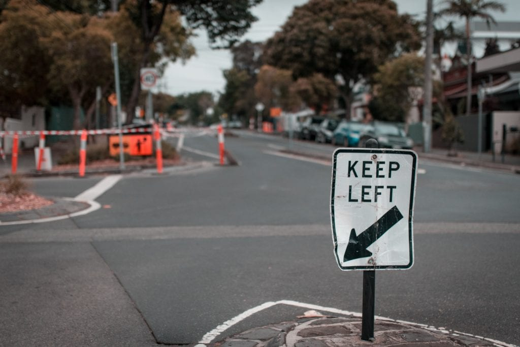 Defective Roadway Accidents are often caused by poor road maintenance and damaged signage